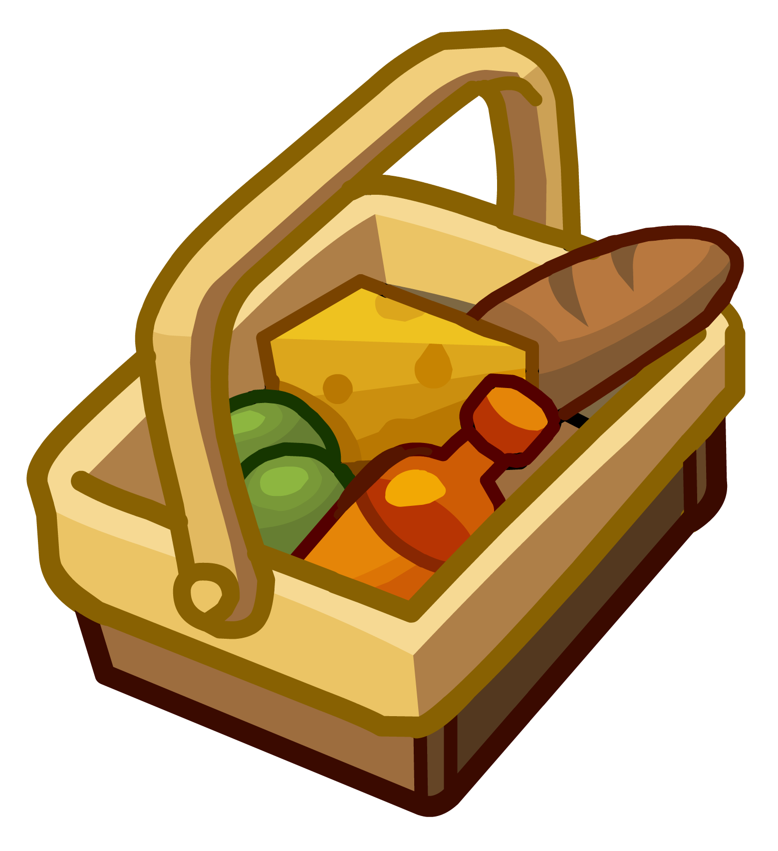 Club penguin pin bundle. Clipart mountains picnic
