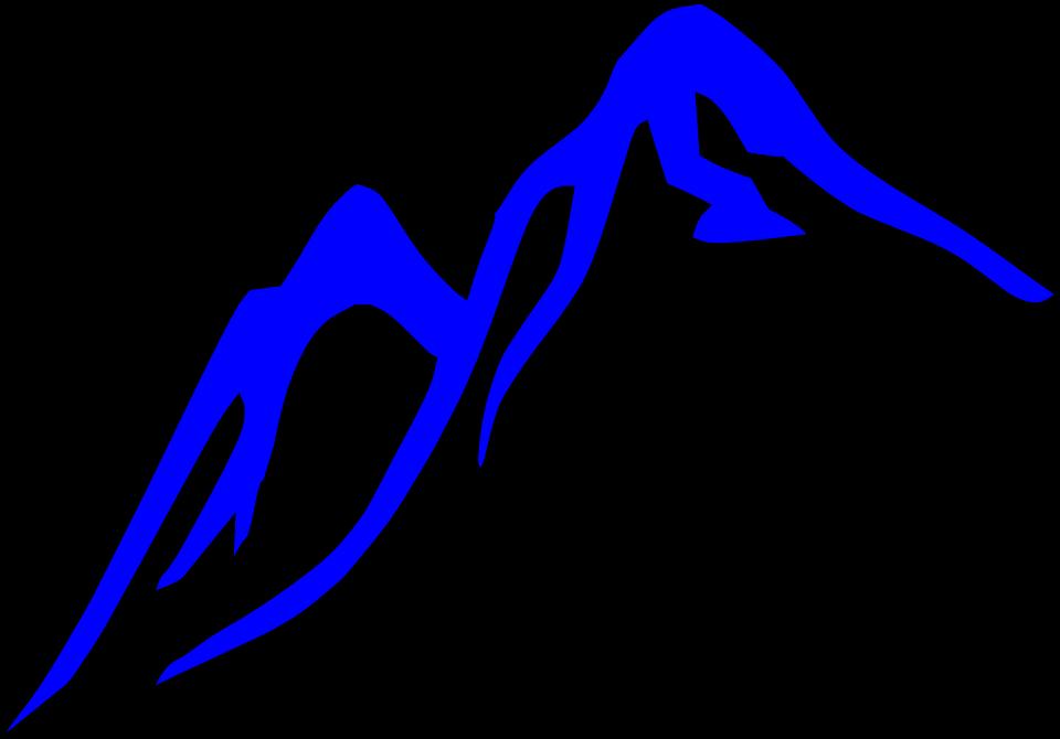 Glacier mountain top pencil. Hill clipart over hill