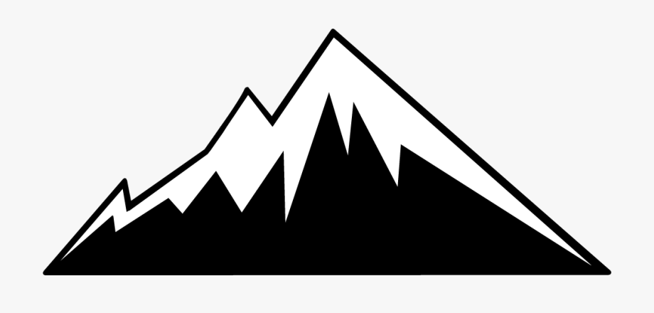 Mountains clipart transparent background. Mountain border free images