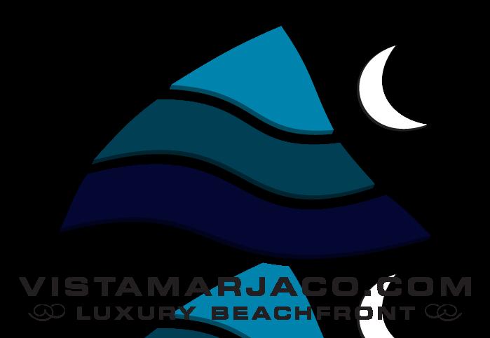Vista mar jaco tours. Footsteps clipart beach