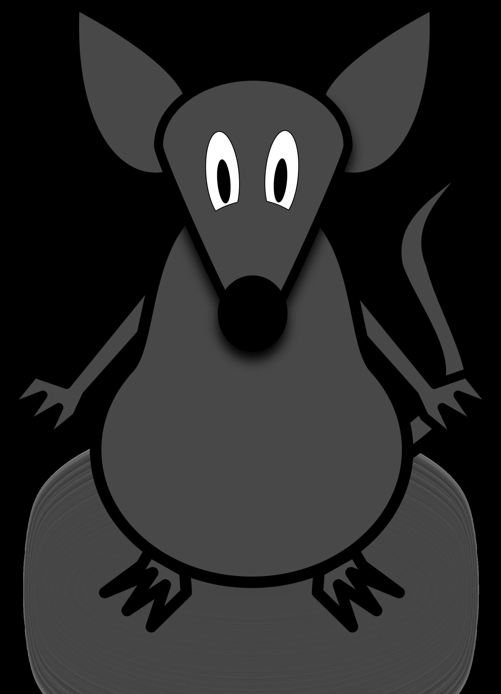 Mouse big image png. Clipart rat simple