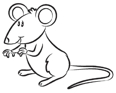 Free mouse black and. Rat clipart mouseblack