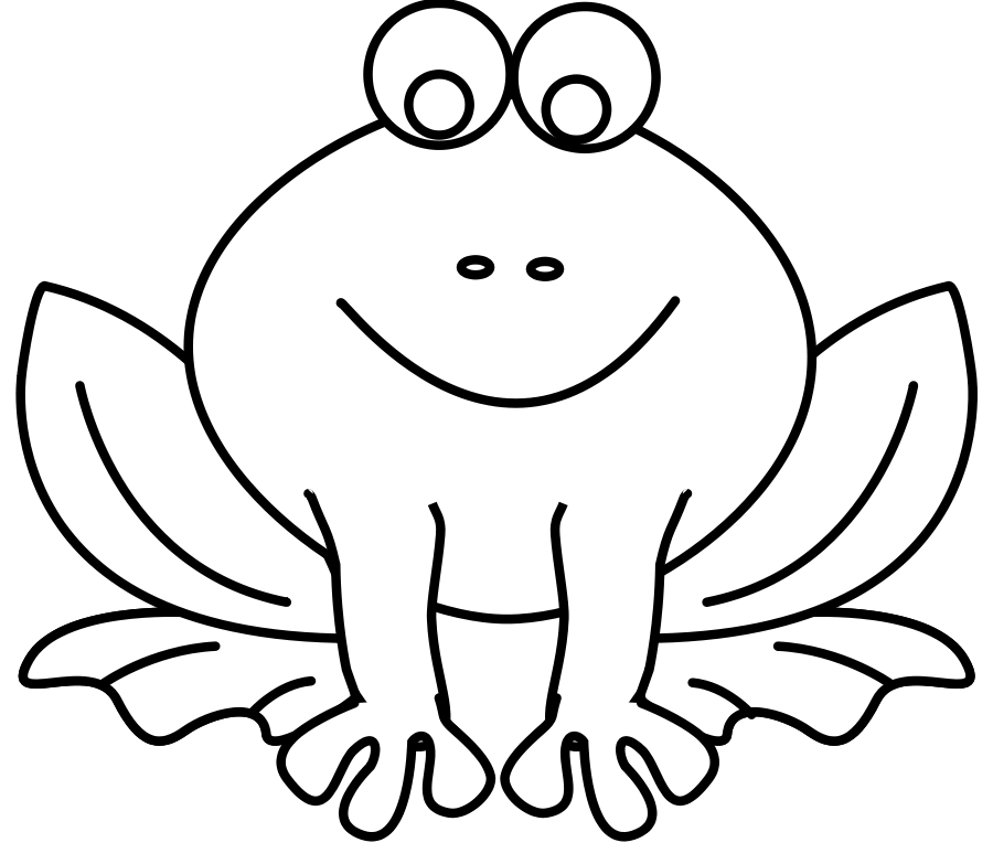 Clipart mouse black and white. Free frog download clip