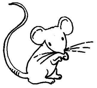 Rat clipart mouseblack. Mouse clip art black