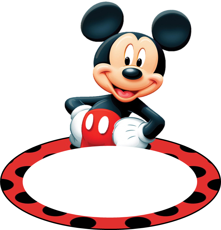 Lollipop clipart mickey mouse ear. Name tags for kids