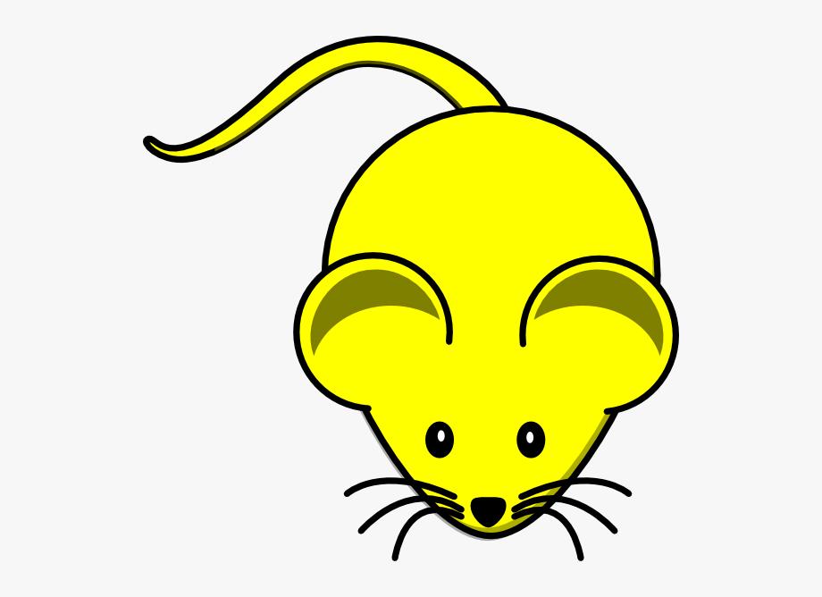 Yellow color pencil cartoon. Oranges clipart mouse