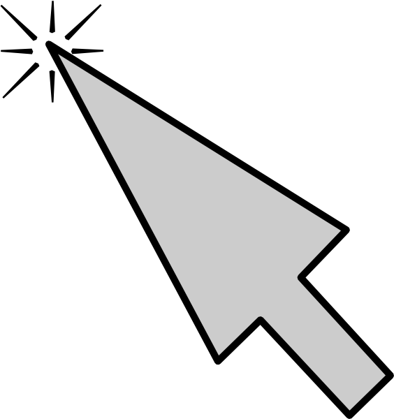 Computer arrow panda free. Website clipart mouse click
