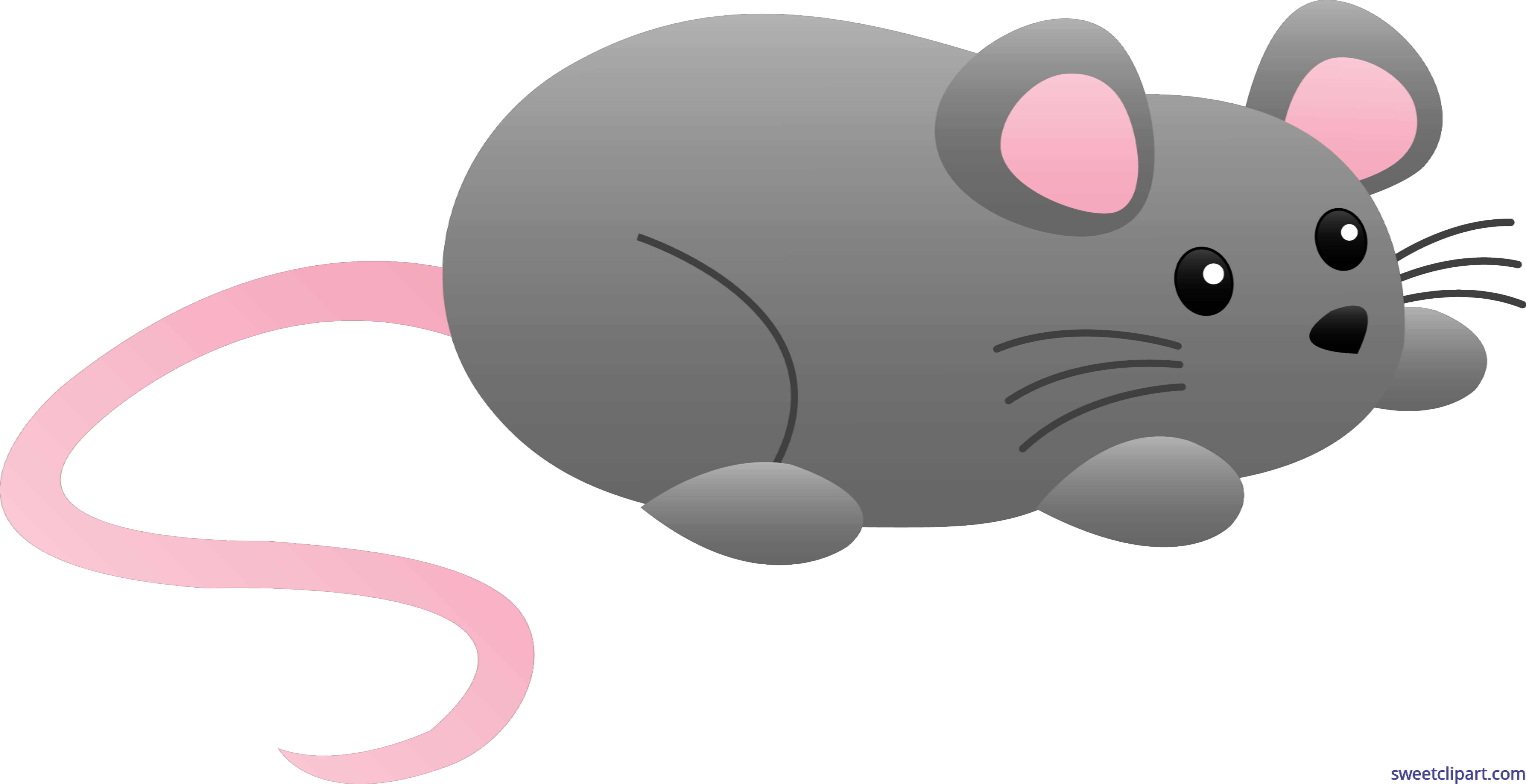 Grey clip art sweet. Clipart mouse cute mouse
