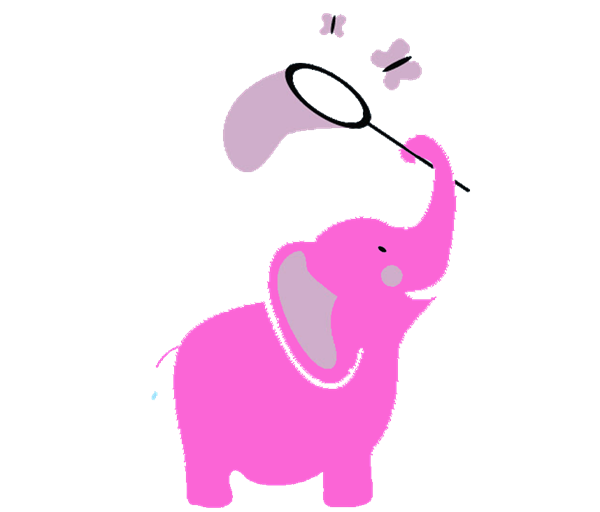 Mouse clipart elephant. Age with birthday invitation