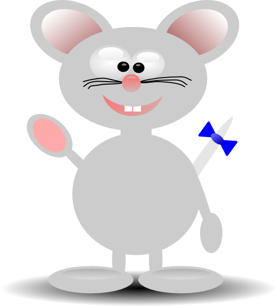 Clip art at clker. Clipart mouse gray mouse