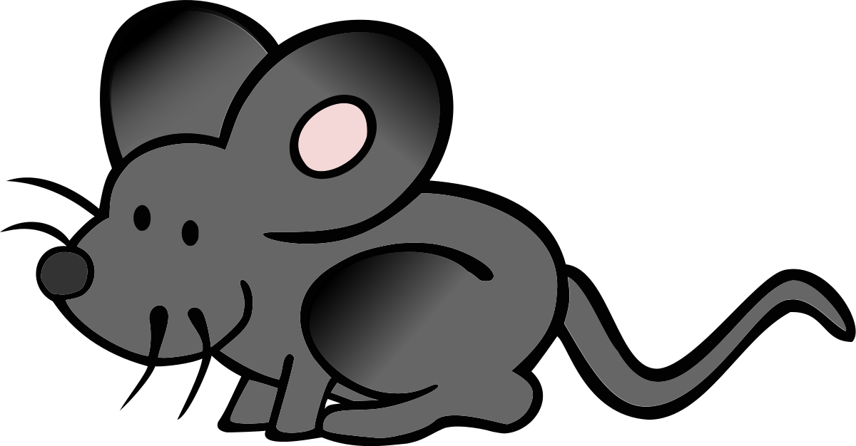 Clipart mouse gray mouse. Black clip art library