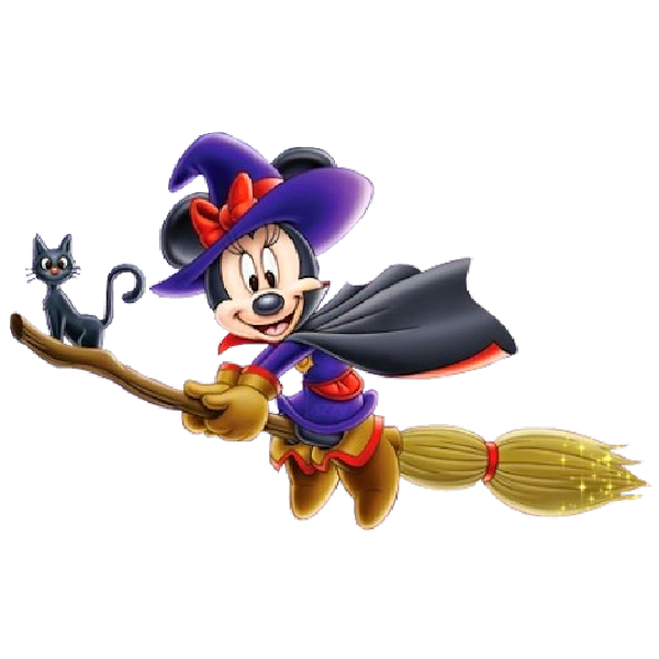 Mouse clipart halloween. Minnie disney images are