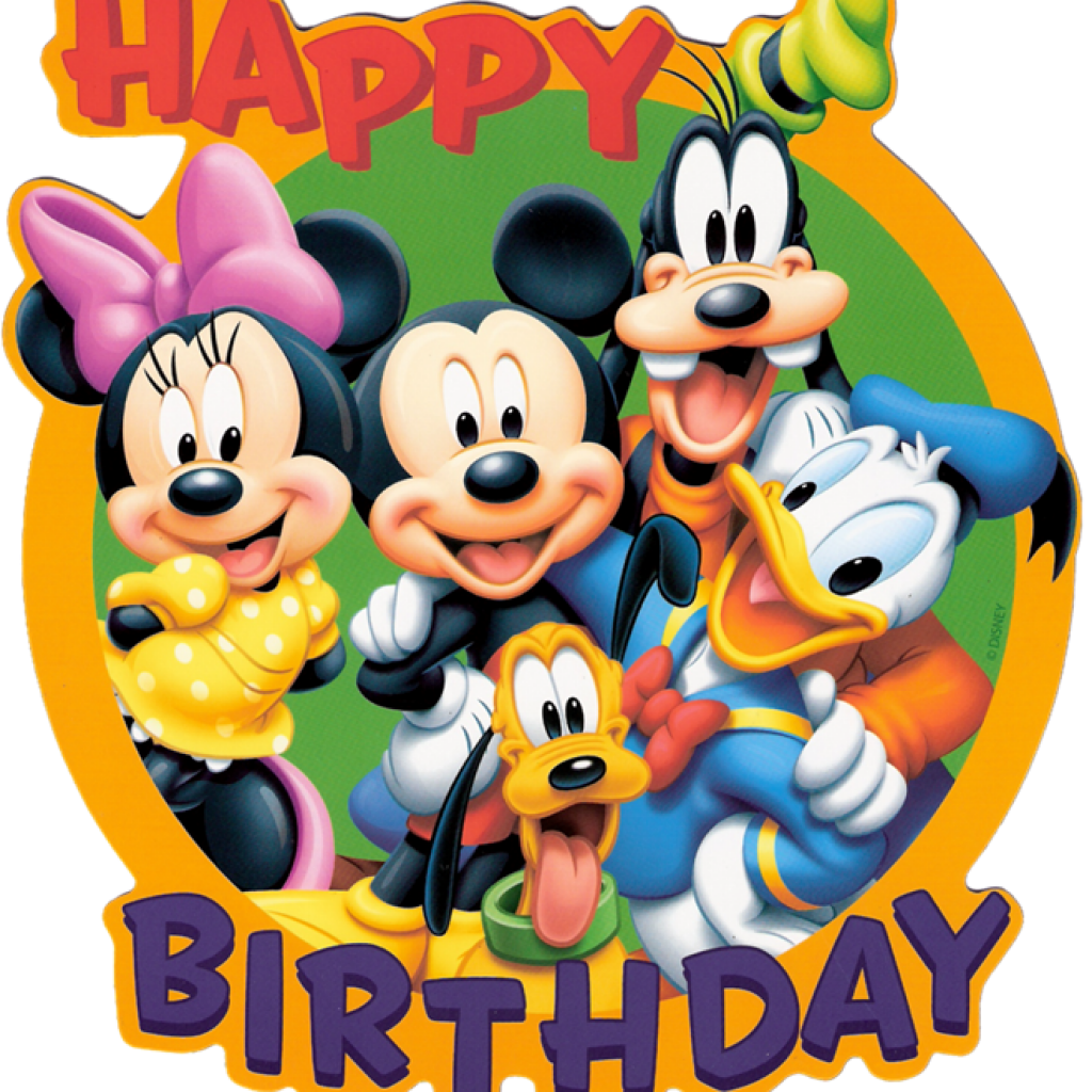 Mickey birthday images music. Clipart mouse happy