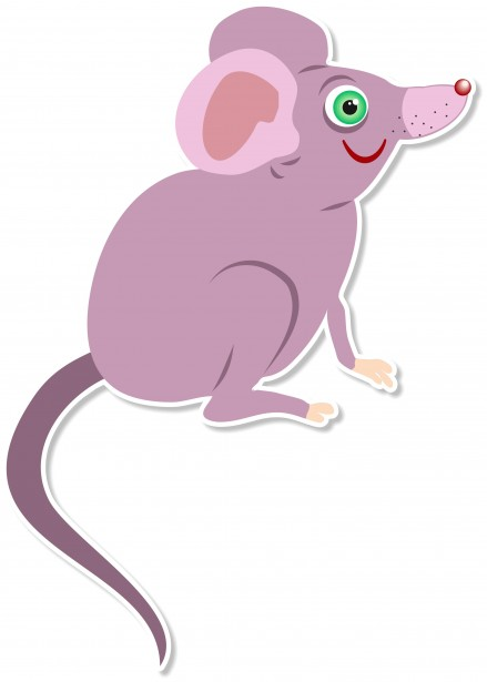 Cartoon free stock photo. Clipart mouse illustration