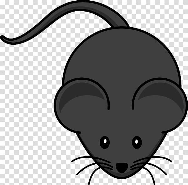 Gray computer cartoon . Clipart mouse illustration