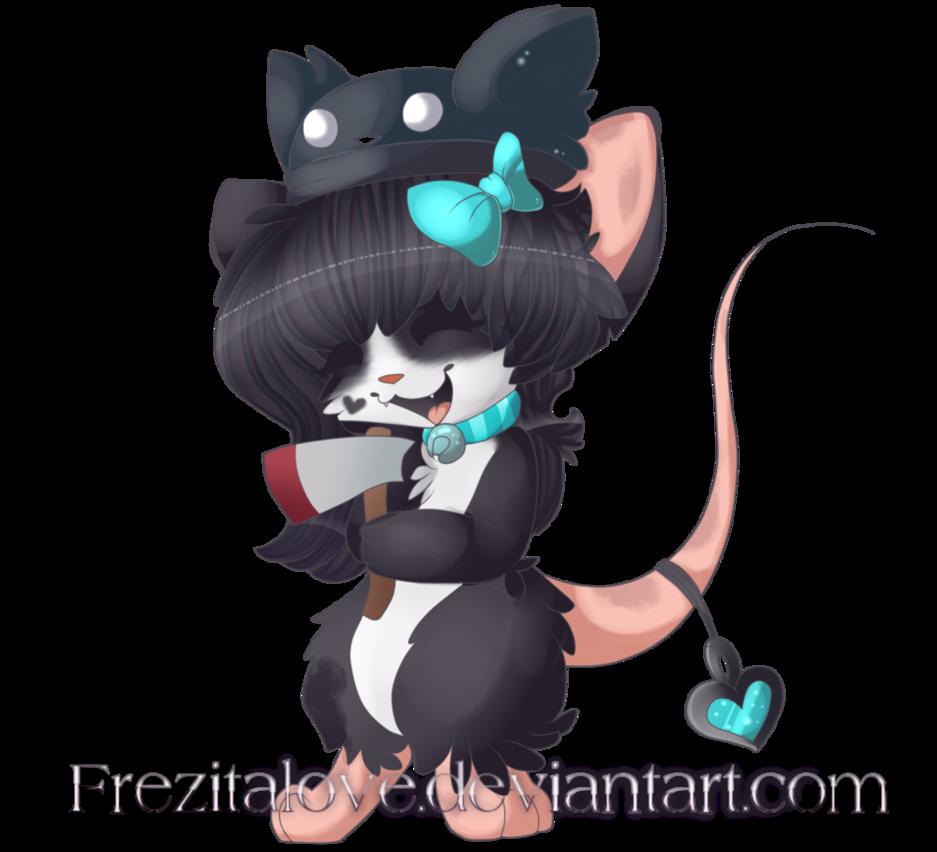 Com by frezitalove on. Mice clipart kawaii