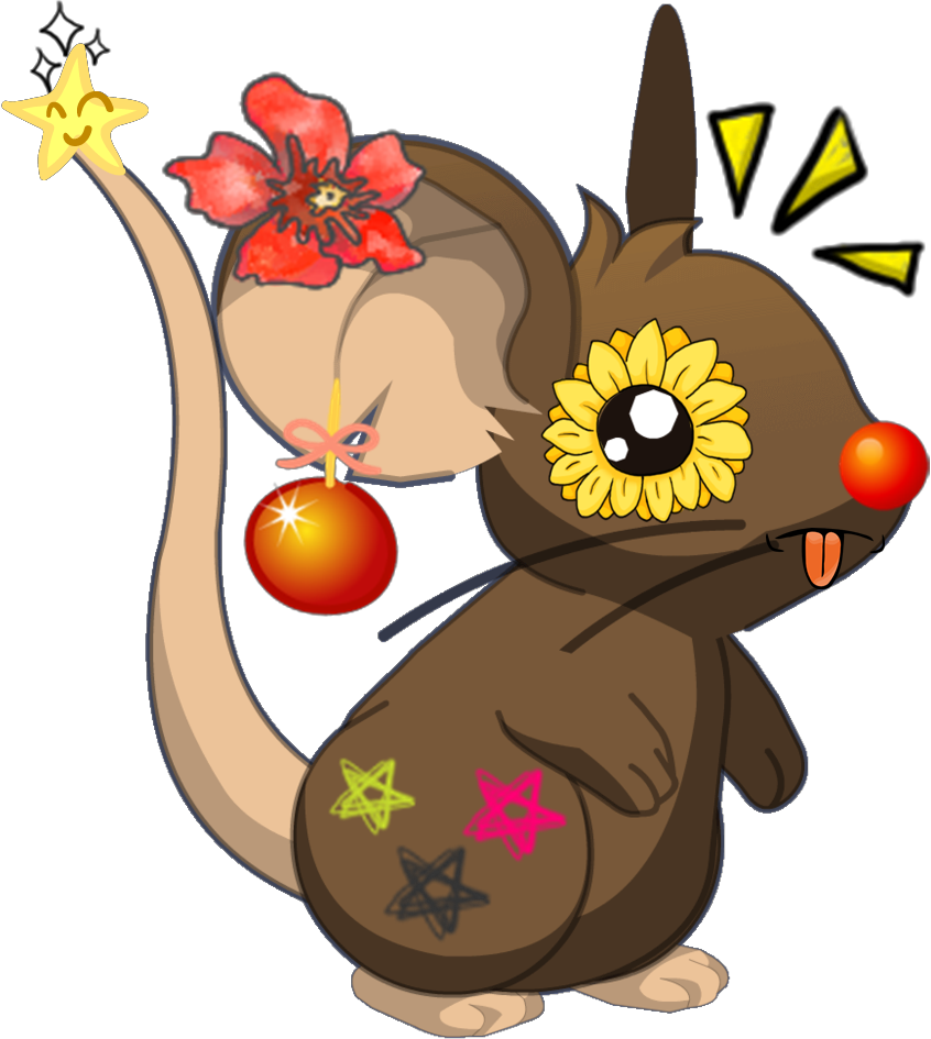 Kawaii clipart mouse. Transformice d by deerfox