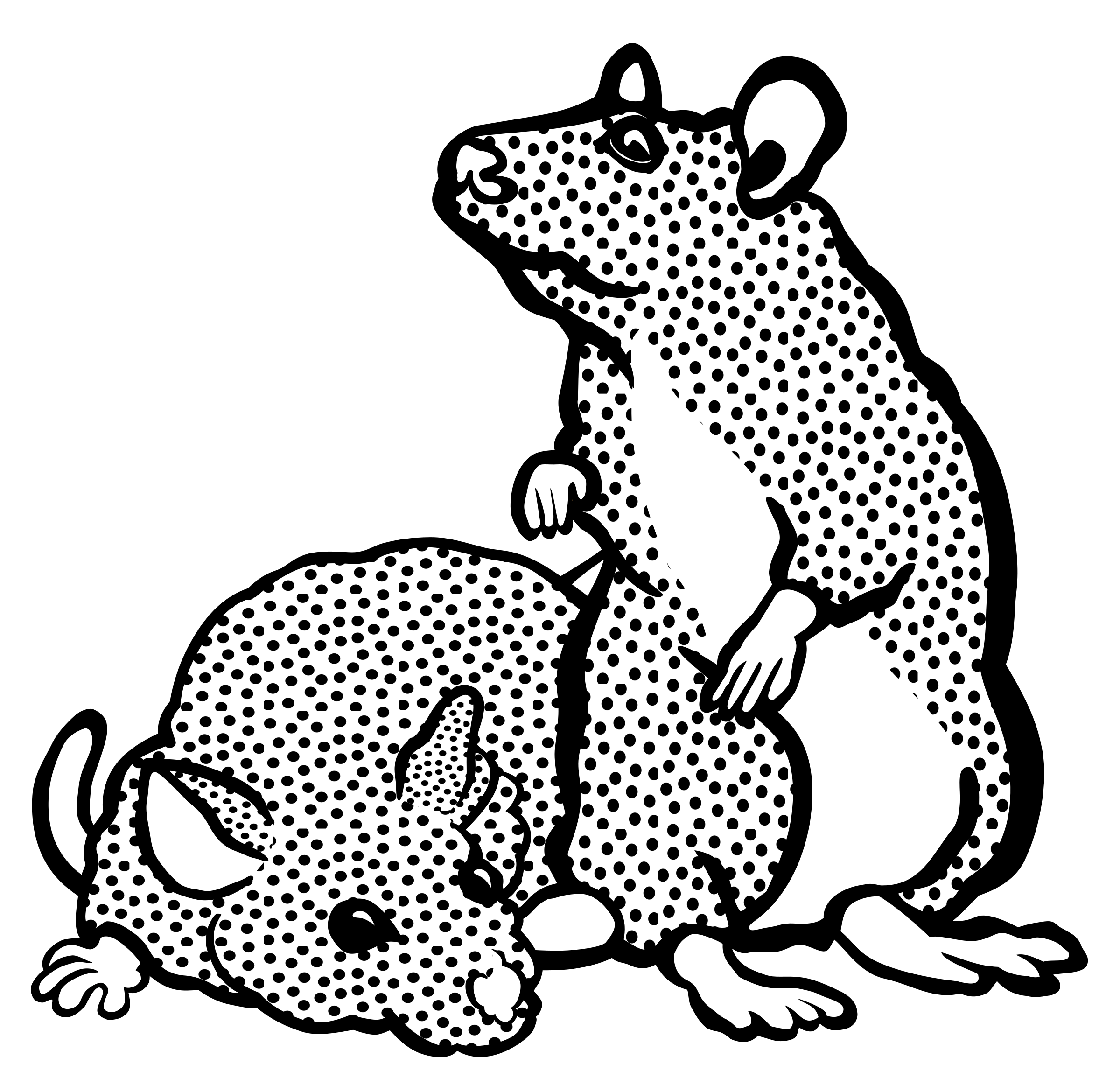Mice clipart line art. Lineart big image png