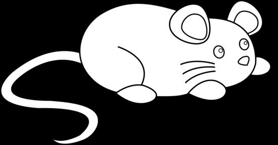 Mice clipart line art. Cute mouse free clip