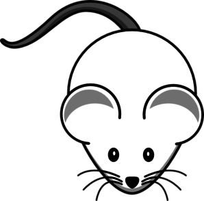 White grey clip art. Clipart mouse mouse tail