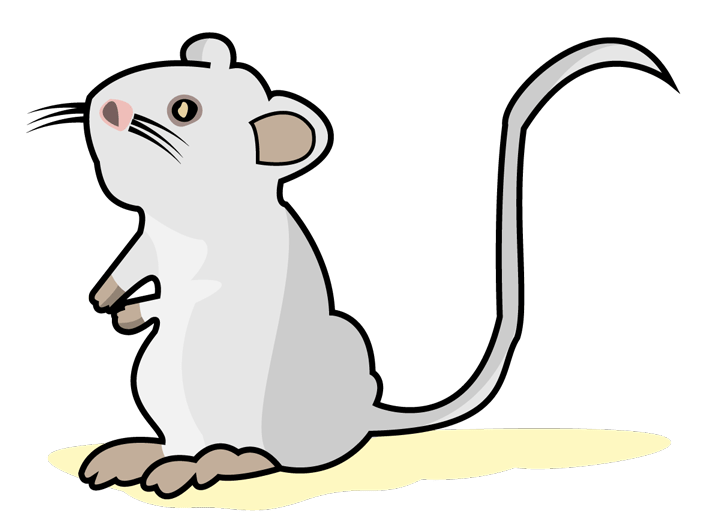 Monoclonal development and production. Mice clipart noisy