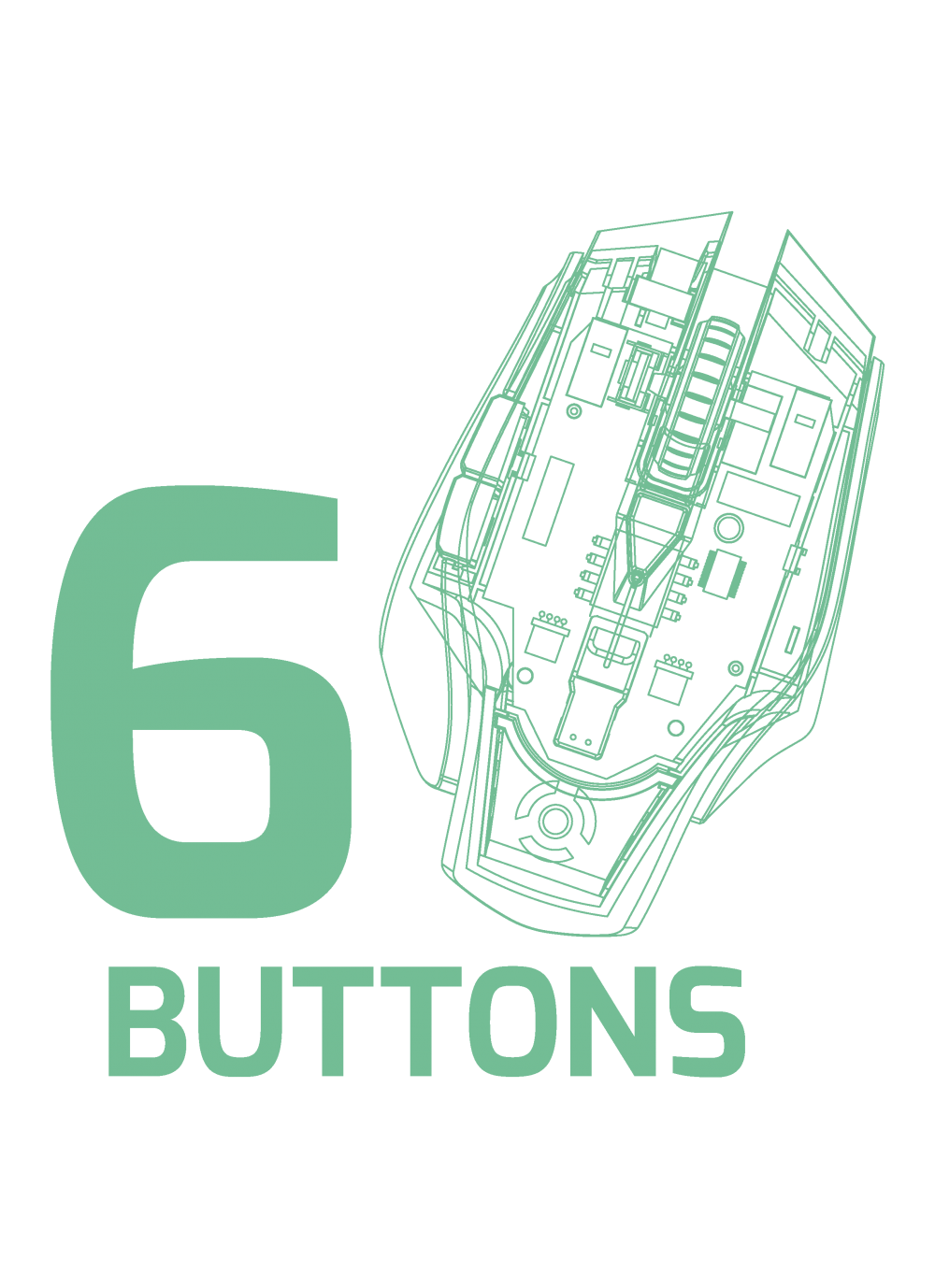 Optical buttons dpi arokh. Mice clipart gaming mouse