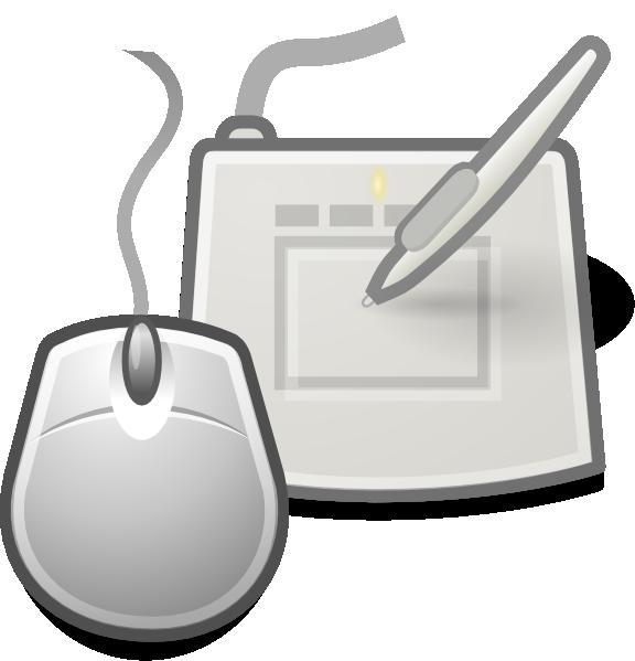 Clipart mouse peripheral. Desktop peripherals clip art