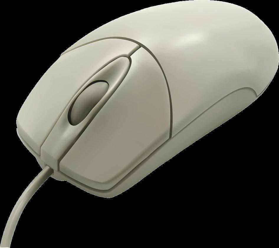 Clipart mouse peripheral. Vintage white computer transparent