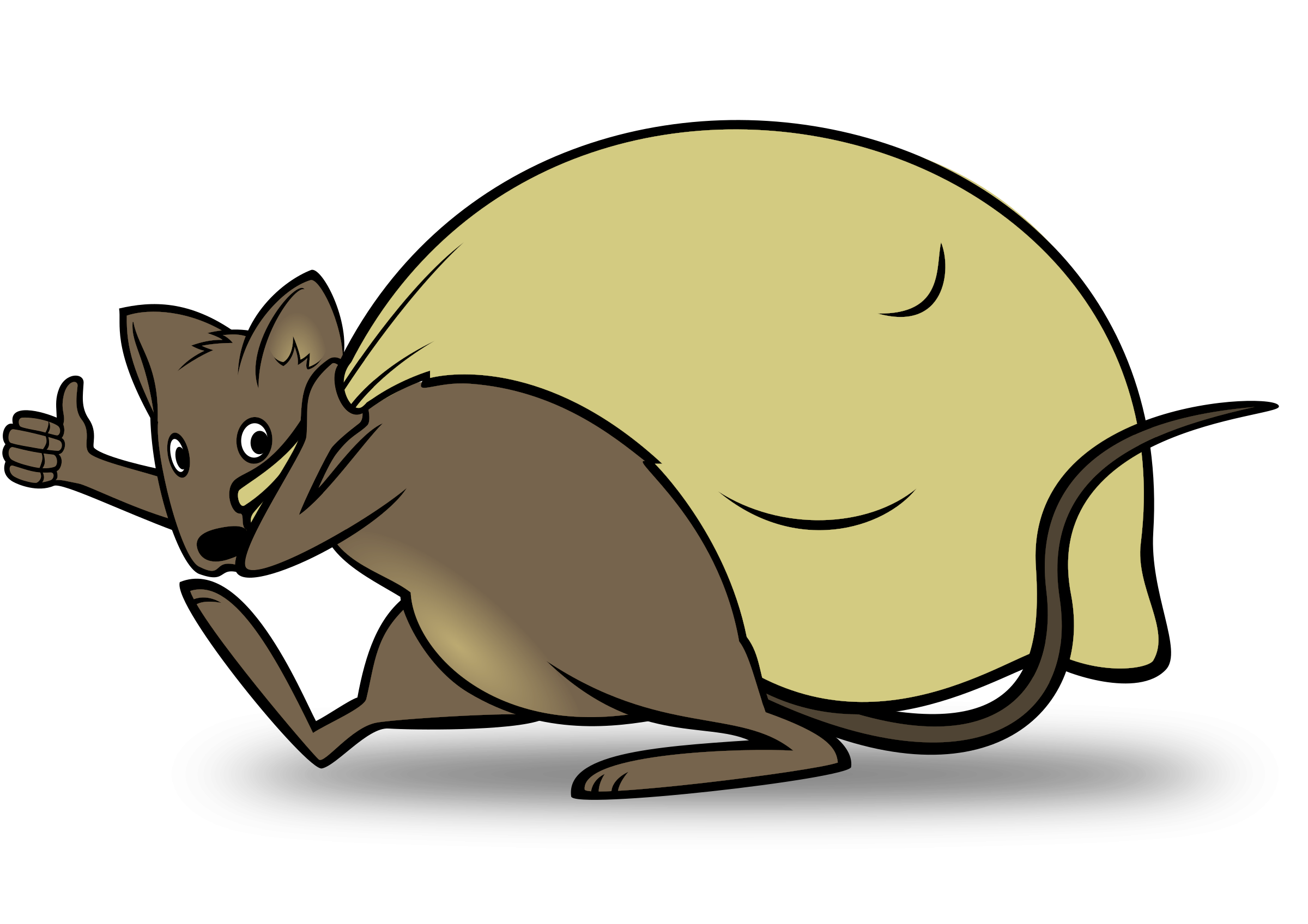 Clipart mouse rat. Delivery big image png