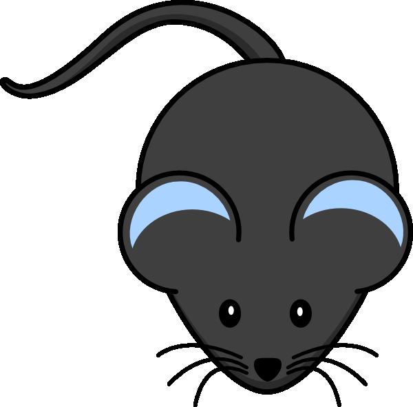 Cute blue clip art. Clipart mouse rat