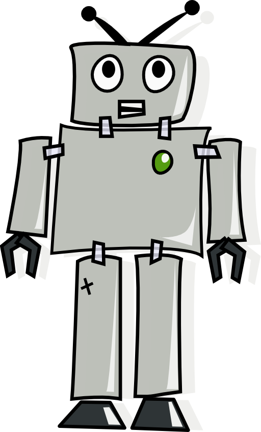 Cartoon i royalty free. Clipart mouse robot