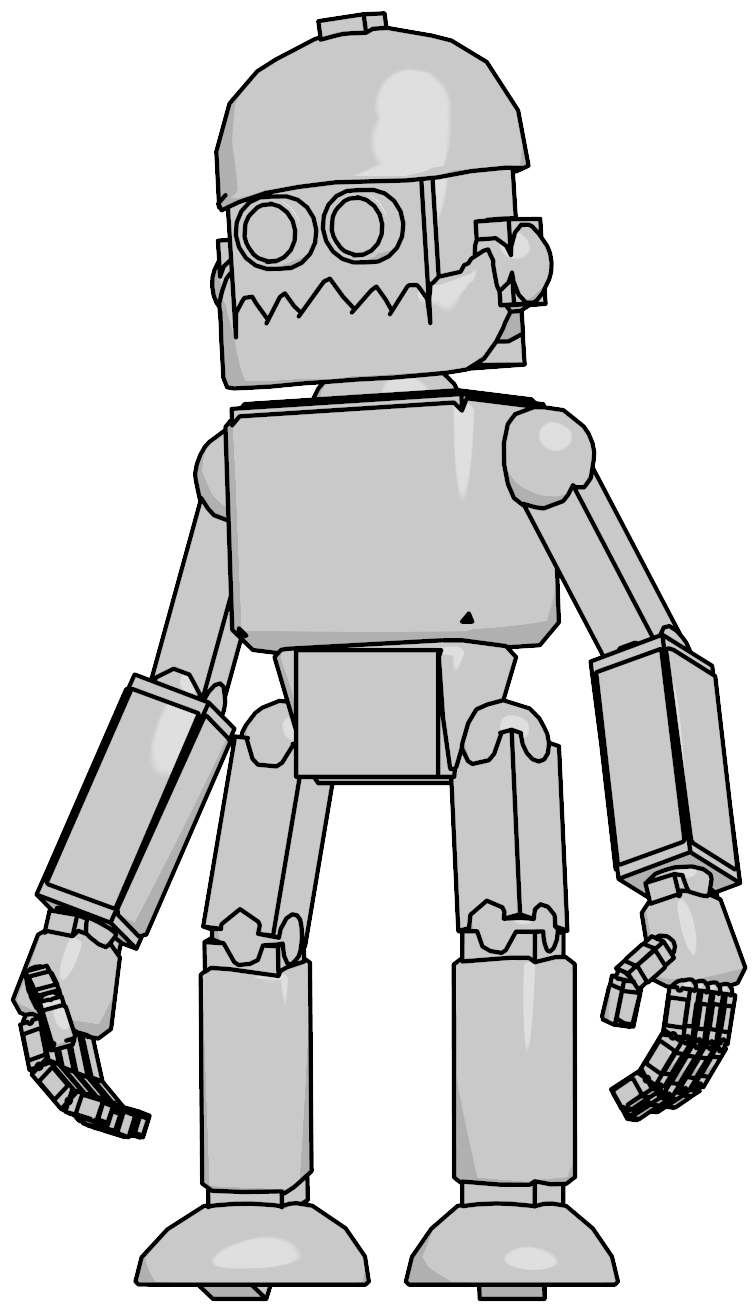 Clipart mouse robot. Old png clipartly comclipartly