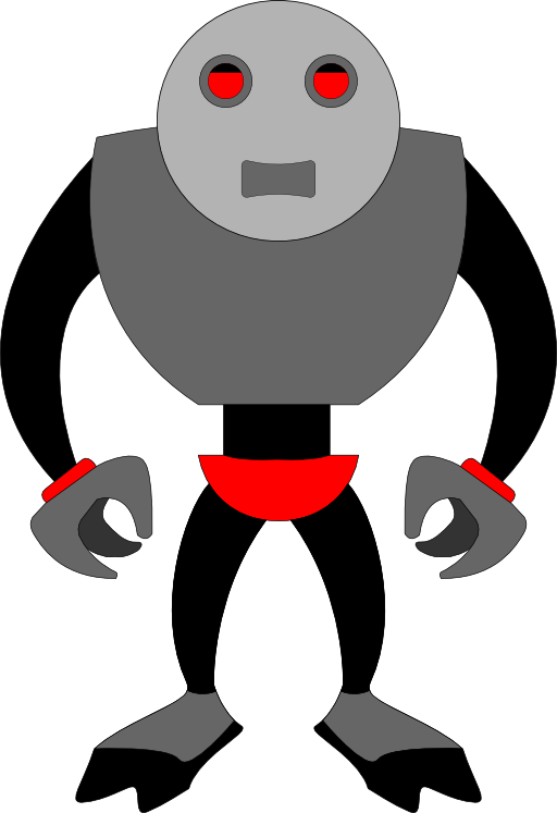 I royalty free public. Clipart mouse robot