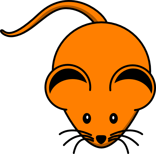 Mice orange free on. Clipart mouse rodent