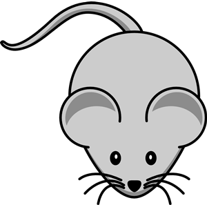 Cartoon cliparts of . Clipart mouse simple