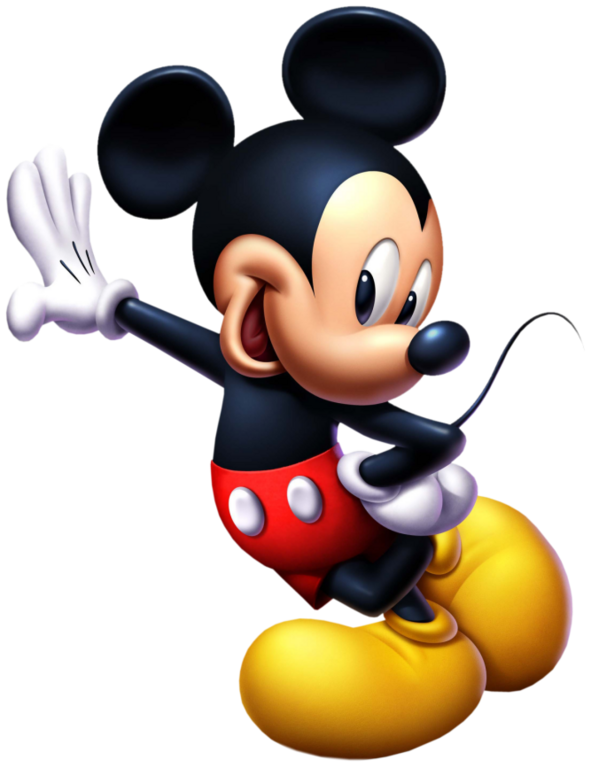 Mickey mouse standing png. Gloves clipart party