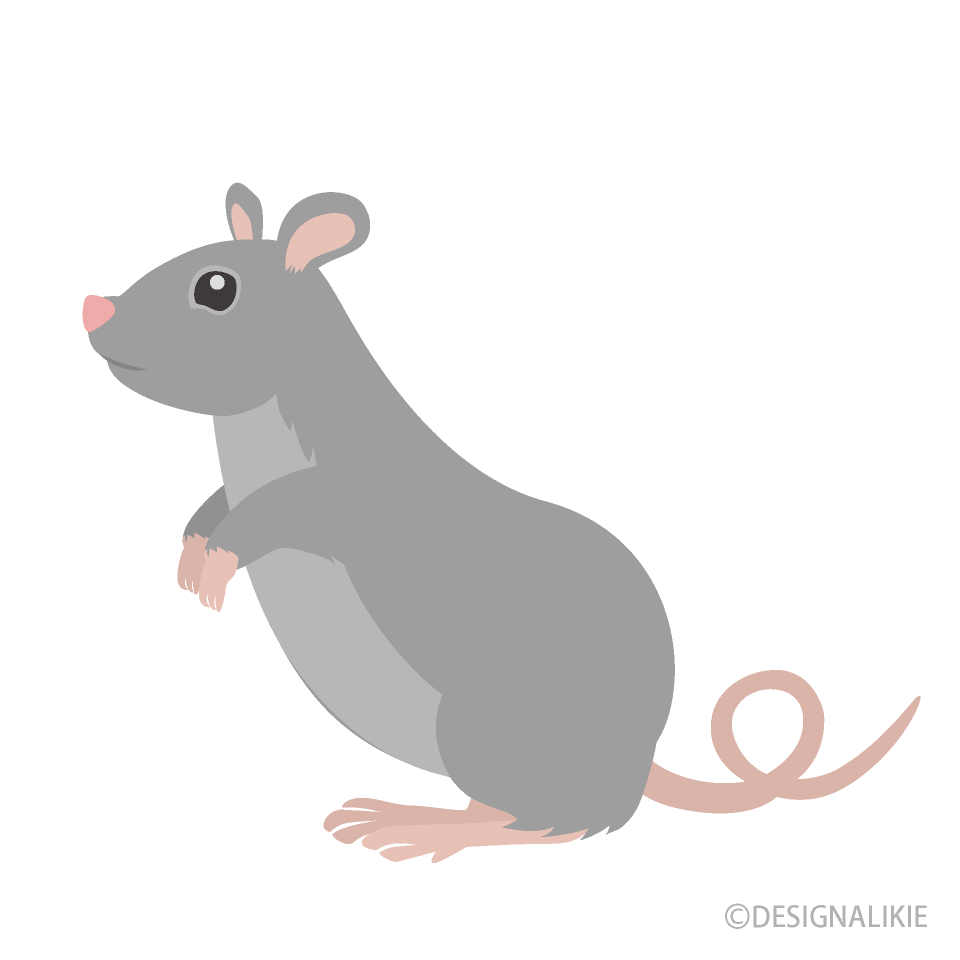 clipart mouse standing