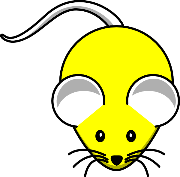 Purple clipart mouse. Yellow clip art at