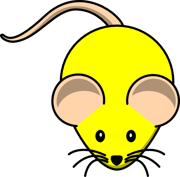 Wednesday clipart yellow. Mouse clip art at