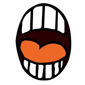 Taste clipart mouth open. Clip art free panda