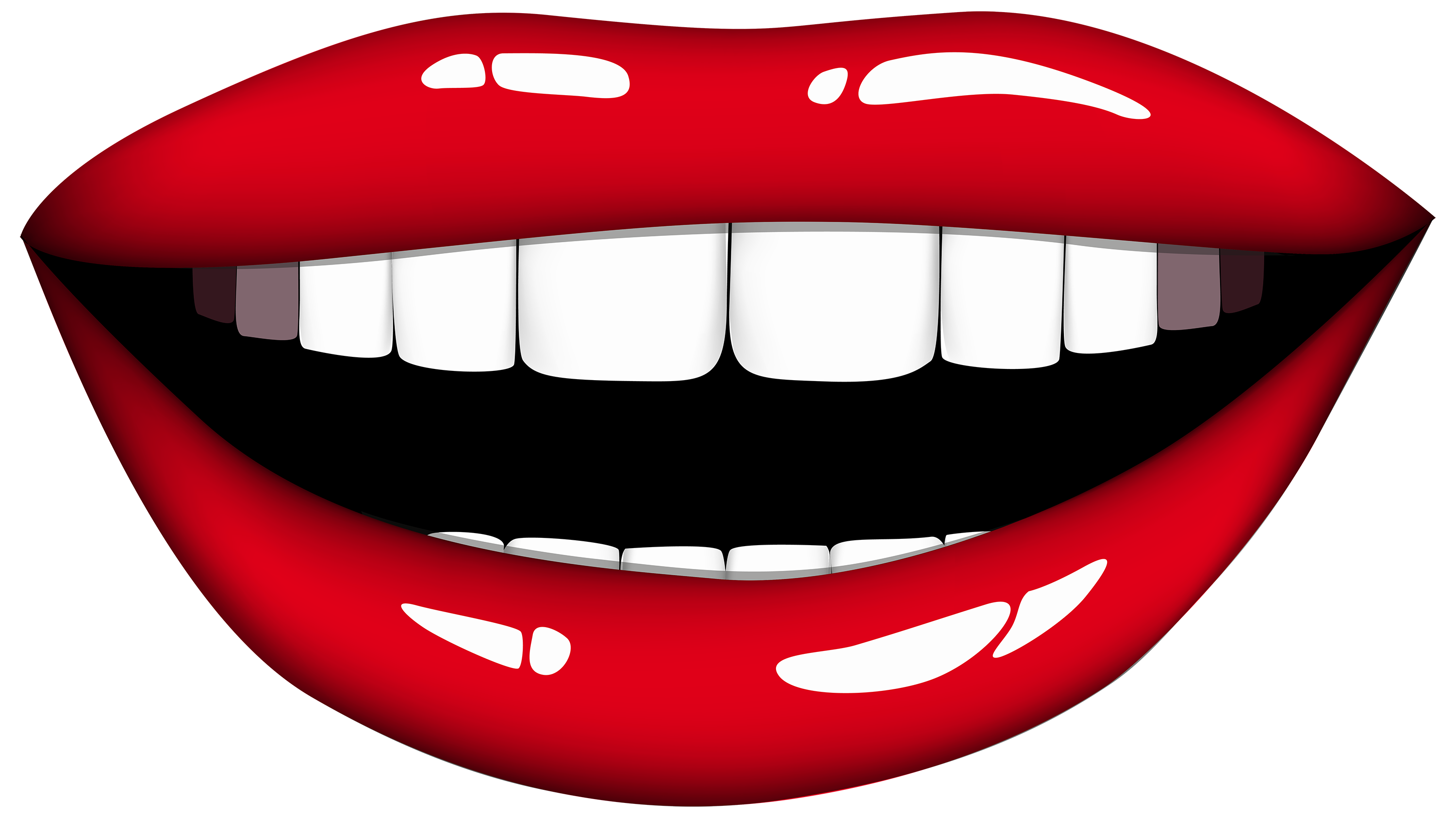 Mouth clipart. Smiling png best web