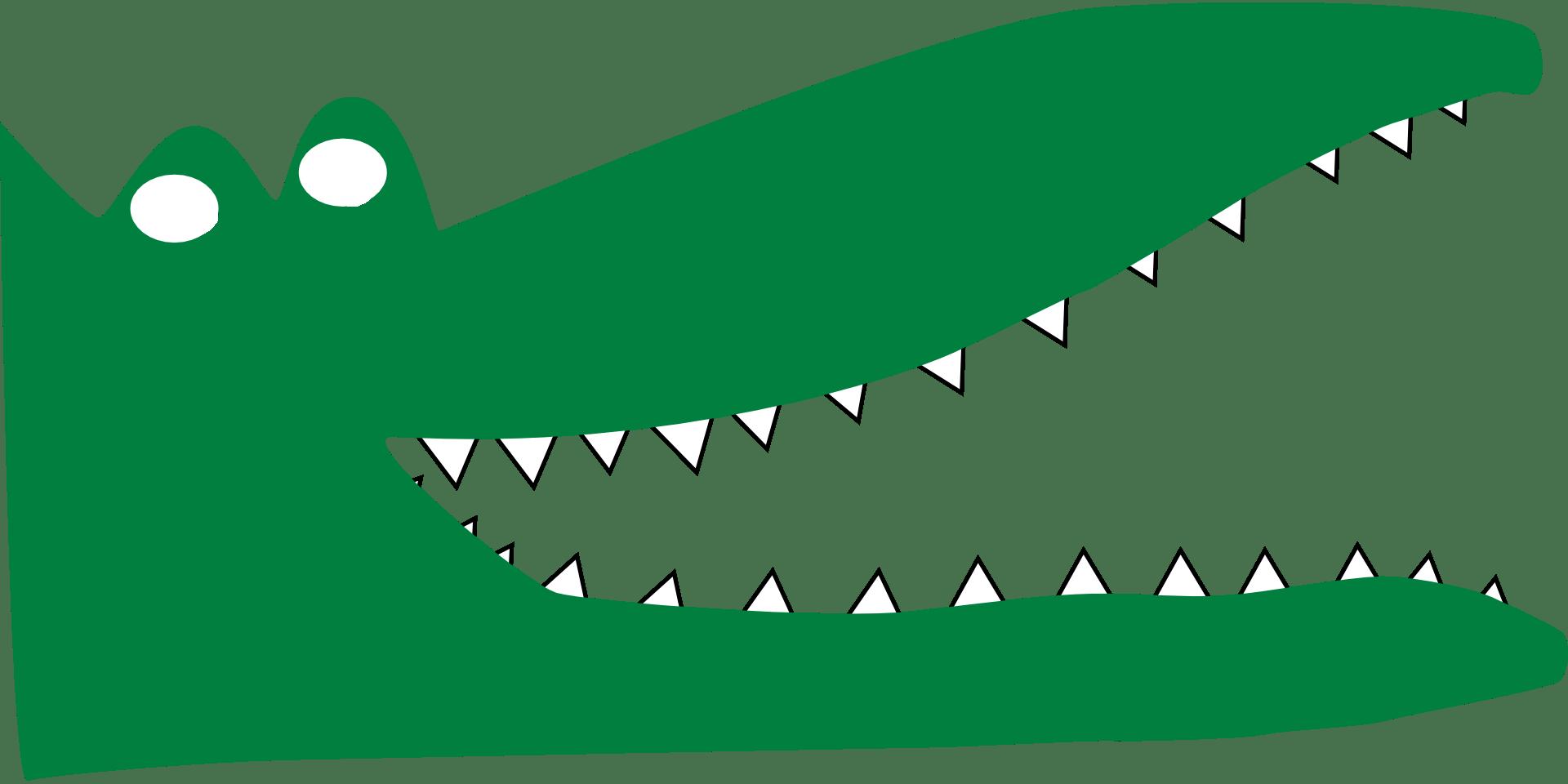 Clipart mouth alligator. Cartoon open
