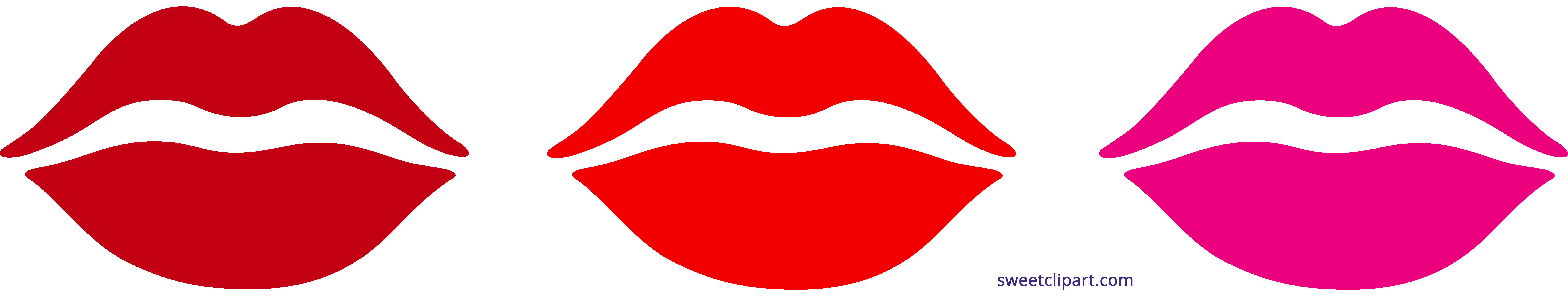 Lipstick clipart object. Lips kisses sweet clip
