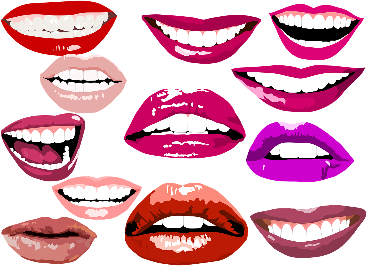 Teeth whitening what can. Clipart smile crooked smile