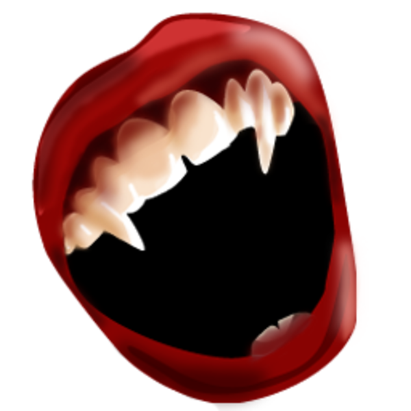 Free images at clker. Mouth clipart bite