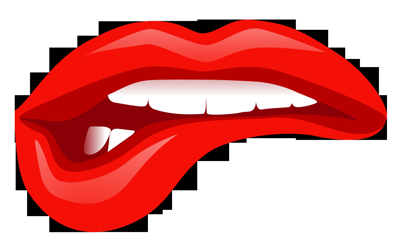 Kiss png transparent imag. Mouth clipart bite
