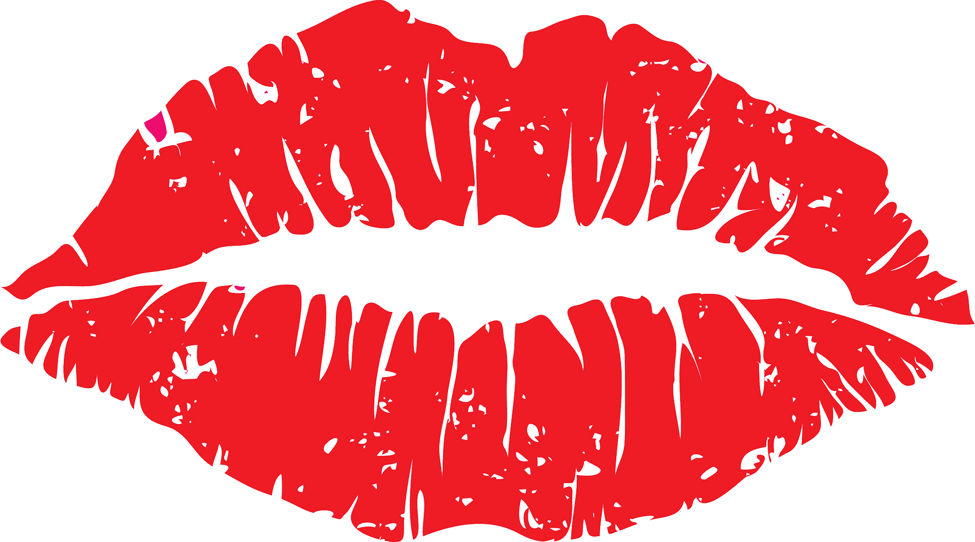 Lips clipart lipstick stain. Kiss png images free