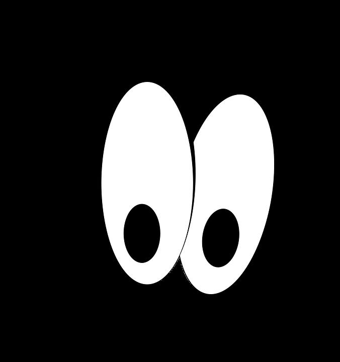Eyeball clipart eye symbol. Cartoon pictures of eyes