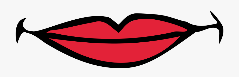 Free images cartoon mouth. Lips clipart quiet