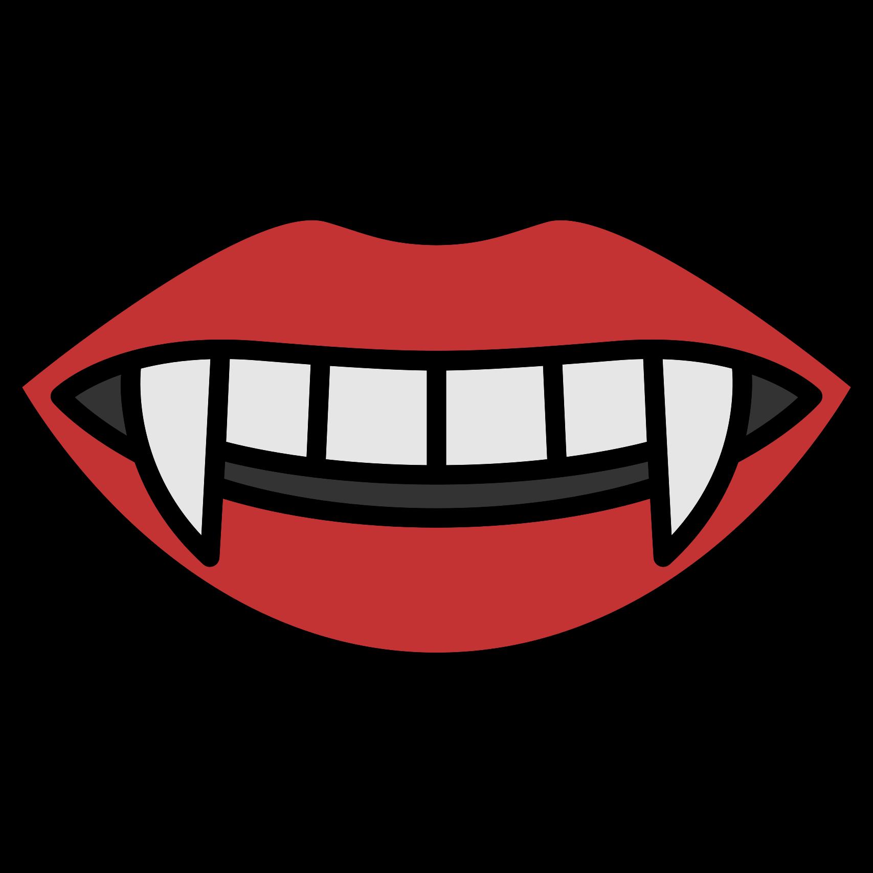 Lips clipart vampire. Mouth clip art teeth